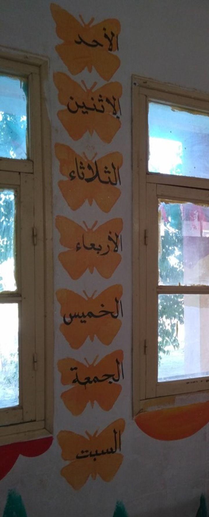 تزيين الفصل أيام الأسبوع Diy Classroom Decorations Diy Classroom Classroom Decorations