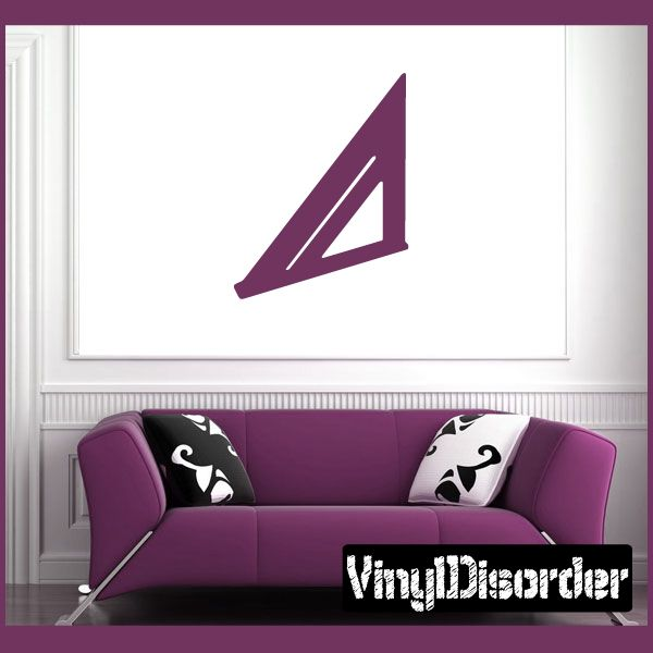 Tool - roofing square Wall Decal - Vinyl Decal - Car Decal - NS001