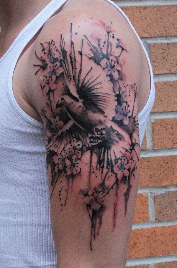Dove Shoulder - 40 Quarter Sleeve Tattoos  <3 !