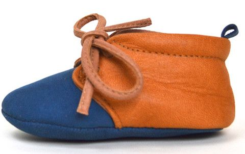 Blue Tongue. Lapito Footwear leather baby shoes