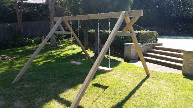Swing Set | | #decks #outdoorlife #living #house #interiordesign #style #sydney #northernbeaches #ashandbark #interior #interiordesign #house #shop #designer #handmade #furnituredesign #shop #office #house #housedecor