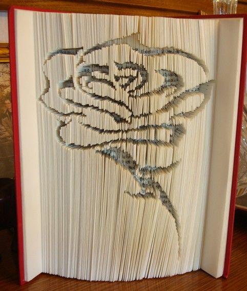 les 117 meilleures images du tableau origami pliage livre sur pinterest art avec des livres. Black Bedroom Furniture Sets. Home Design Ideas