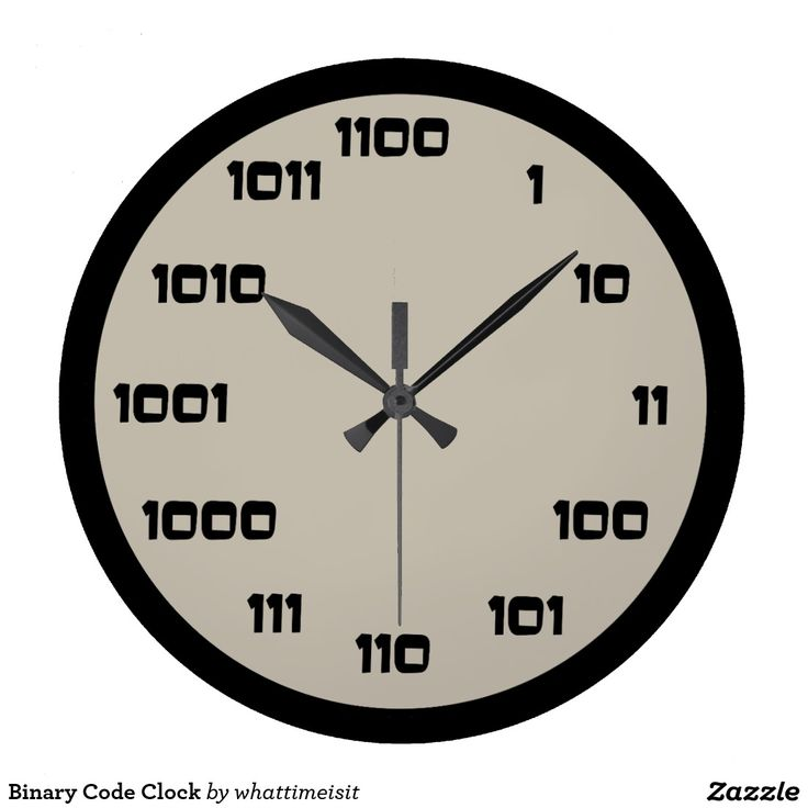 Binary Code Clock