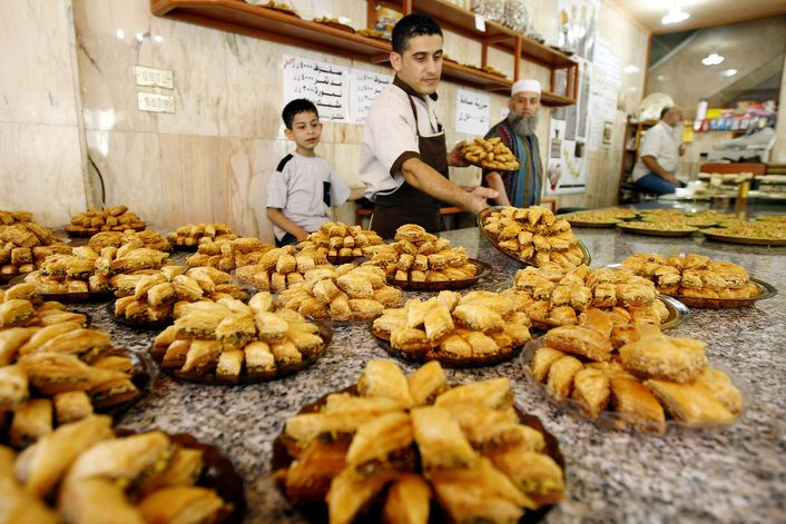 Mindfulness in a Middle Eastern Baklava Shop | The Interdependence Project