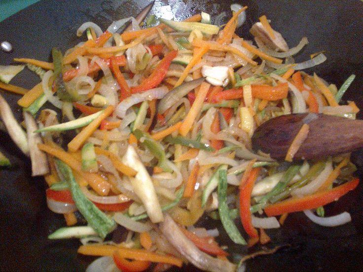 verduras al wock