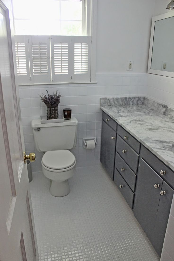 The Long And Short Of It: Budget Bathroom Makeover