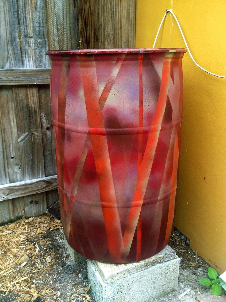 16 Best Images About Rain Barrel Painting Ideas On