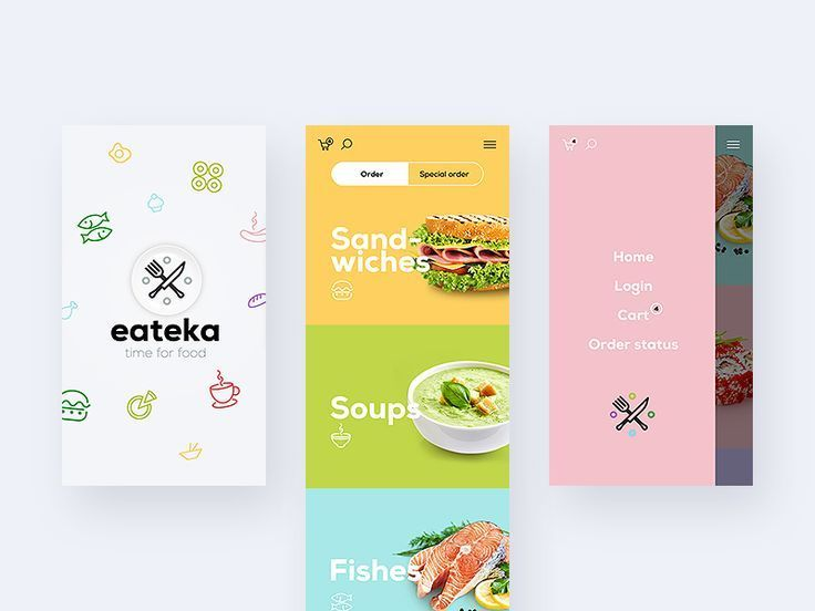 Food app by lluck #Design Popular #Dribbble #shots