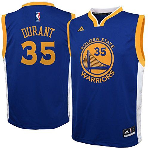 Cheap Golden State Warriors Kids Kevin Durant Replica Road Jersey - Royal 35  Father day sale