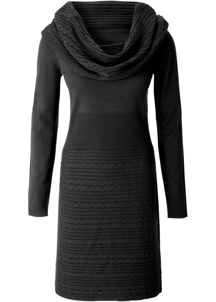 Gebreide jurk zwart - BODYFLIRT nu in de onlineshop van bonprix.nl vanaf ? 27.99 bestellen. Vrouwelijk