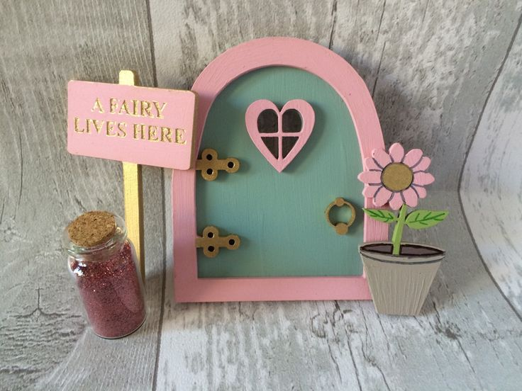 Fairy Door Pixie Door Magical Fairy Tales Decorations - pinned by pin4etsy.com