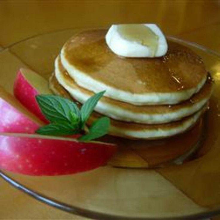 Recept voor Amerikaanse pannenkoeken