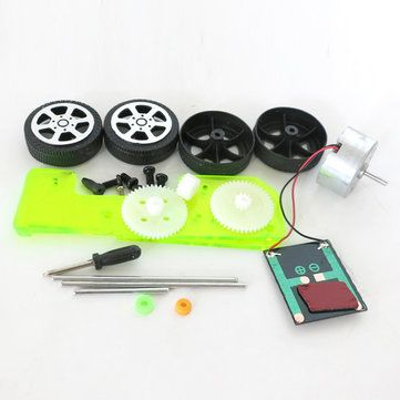 DIY Solar Power Car Physics Experiment Science and Technology Puzzle Toy Kit Sale - Banggood.com