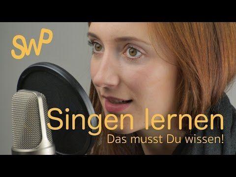 Singen lernen online - Video-Kurs Singen lernen - Das musst Du wissen - Singwithpassion.com