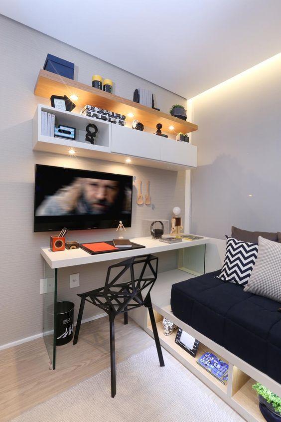 Pin de rossana borges en quarto solteiro pinterest - Decoracion dormitorios juveniles masculinos ...