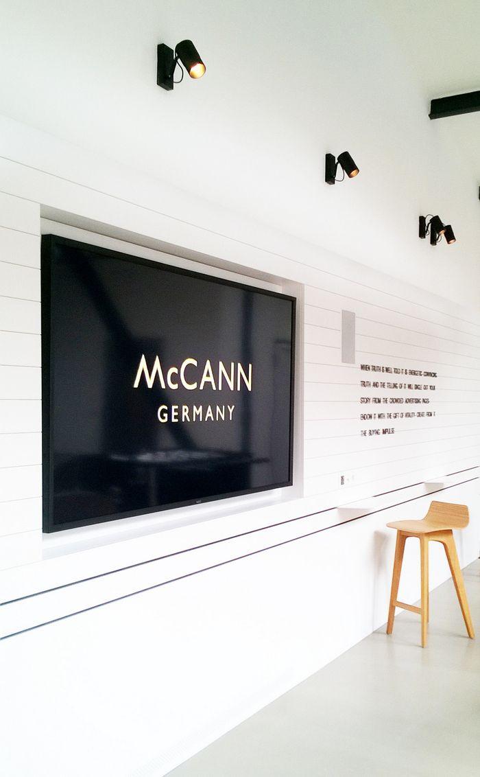 Office Tour: McCann Worldgroup Offices U2013 Berlin. Wall FinishesWall ...