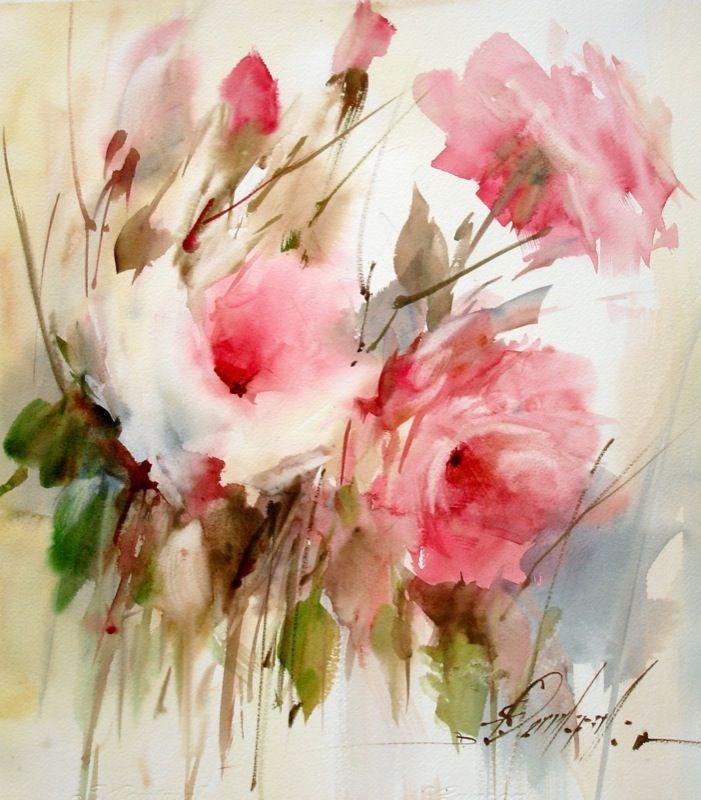 Extrêmement Les 5234 meilleures images du tableau Fleurs aquarelle sur  PK26