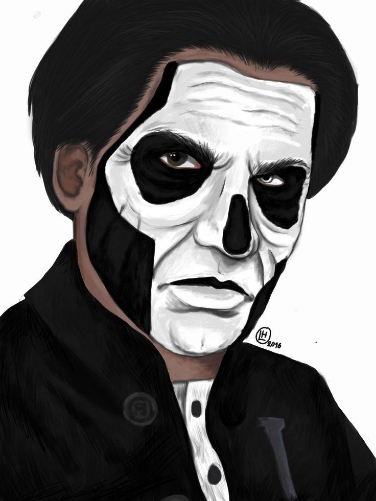 Ghost   Papa Emeritus III    fanart   #papaemeritus #ghost #ghostbc #papaemeritusiii