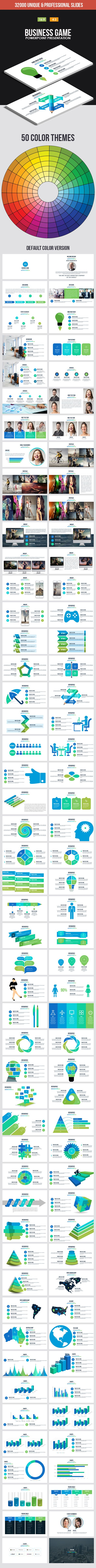 Business Game Powerpoint Template - Business PowerPoint Templates