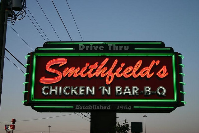 Smithfield's Chicken 'n Bar-B-Q - it's not just a restaurant.....it's a destination!  On Interstate 85, Interstate 95, or somewhere else in NC - if you pass it, you've got to stop!