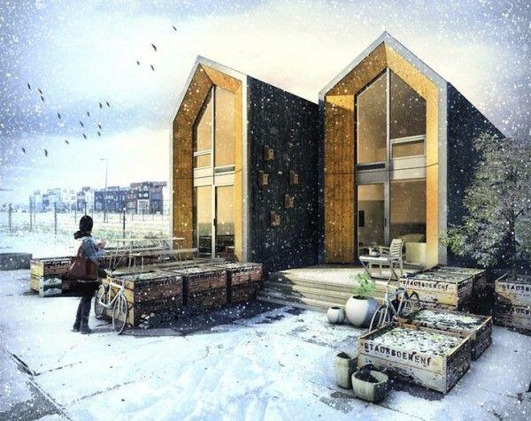 Ces conceptions de génie de petites maisons vous incitera à Live Small