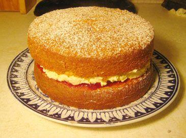 how to make a basic sponge cake mix