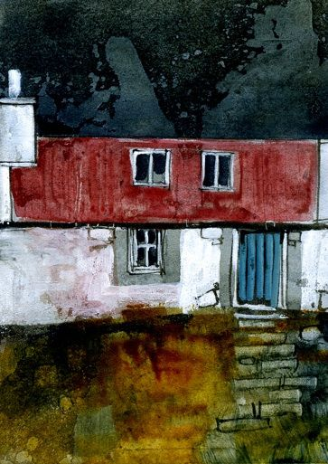 The bothy 2.5 x 3.5 inches Paul Bailey 2011