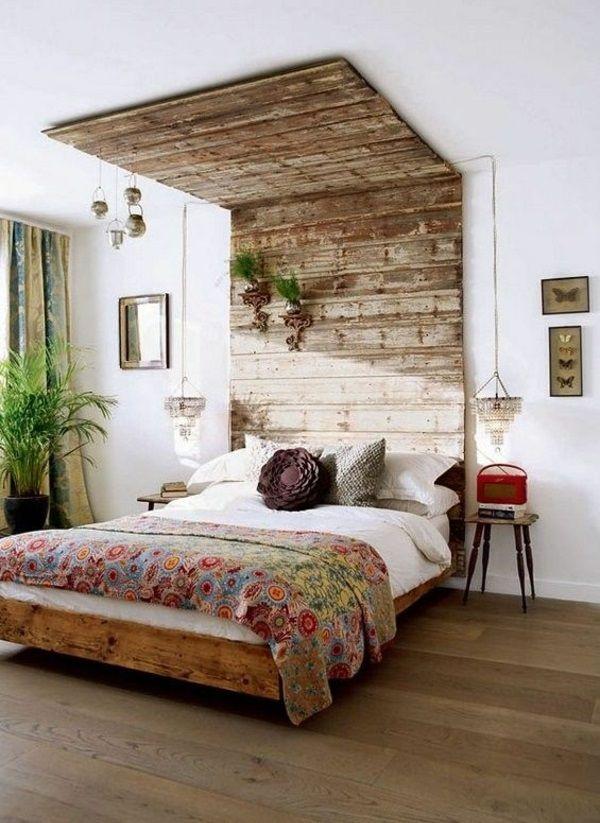 Wohndeko selber machen holz  Die besten 25+ Bett machen Ideen auf Pinterest | Palettenprojekte ...