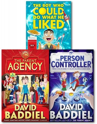 David Baddiel Collection 3 Books Set (The Boy Who Could Do What He Liked,The Parent Agency,The Person Controller) by David Baddiel  #Book #ChildrensBook   http://www.snazal.com/david-baddiel-collection-3-books-set-the-boy-who-could-do-wh--DEALMAN-U5-DB-3bks.html