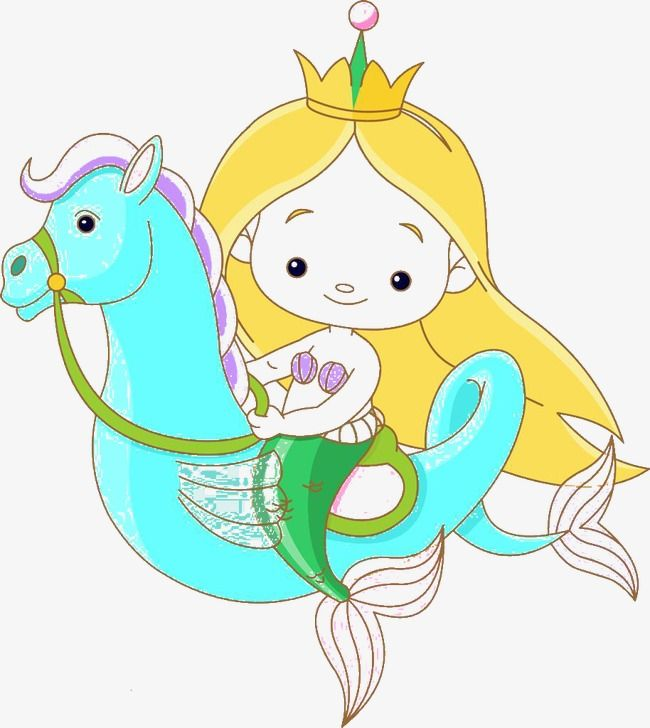Personajes De Dibujos Animados Fotos De Sirena Bebe Sirena Caballito De Mar