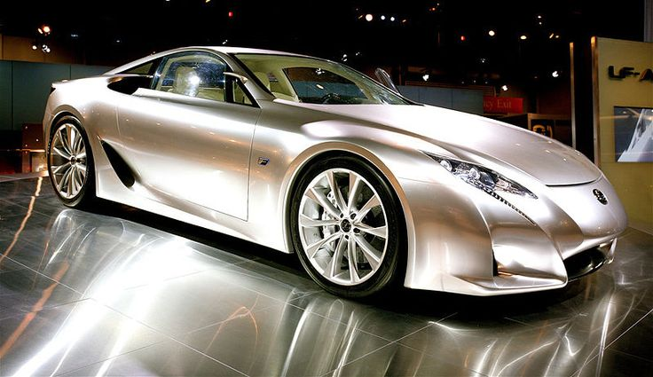 Lexus LFA in my favorite color ~ pearl champagne