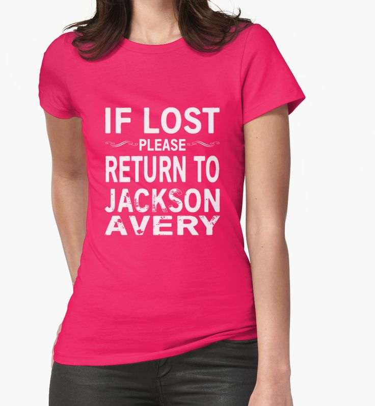 If Lost Please Return to Jackson Avery by Jandsgraphics
