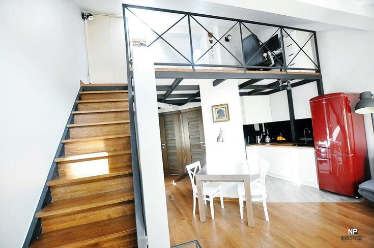 Małe mieszkania z antresolą