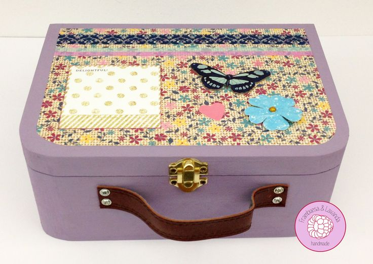 #Caja #Maletín #Handmade #Scrap #Chalkpaint