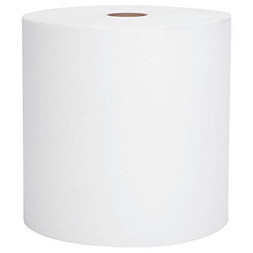 Scott High Capacity Hard Roll Paper Towels (01005), White, 1000′ / Roll, 6 Paper Towel Rolls / Convenience Case #deals