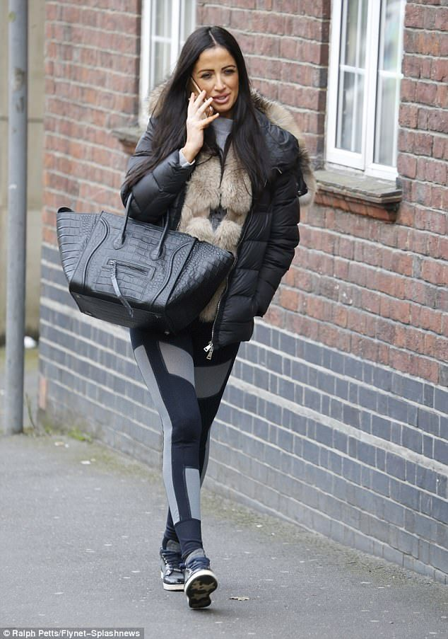 Step up your trainer game in Chantelle's Jimmy Choo trainers #DailyMail