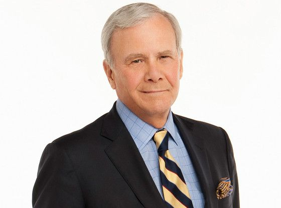 """Tom Brokaw Opens Up About His Cancer Battle: """"It Never Occurred to Me That I Was Going to Die""""  Tom Brokaw"""