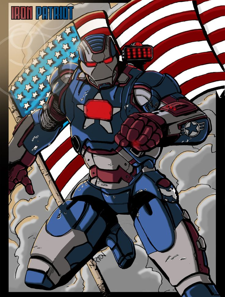 iron patriot colorsive been really excited about iron man so ive decided to do different armors this month iron patriot color
