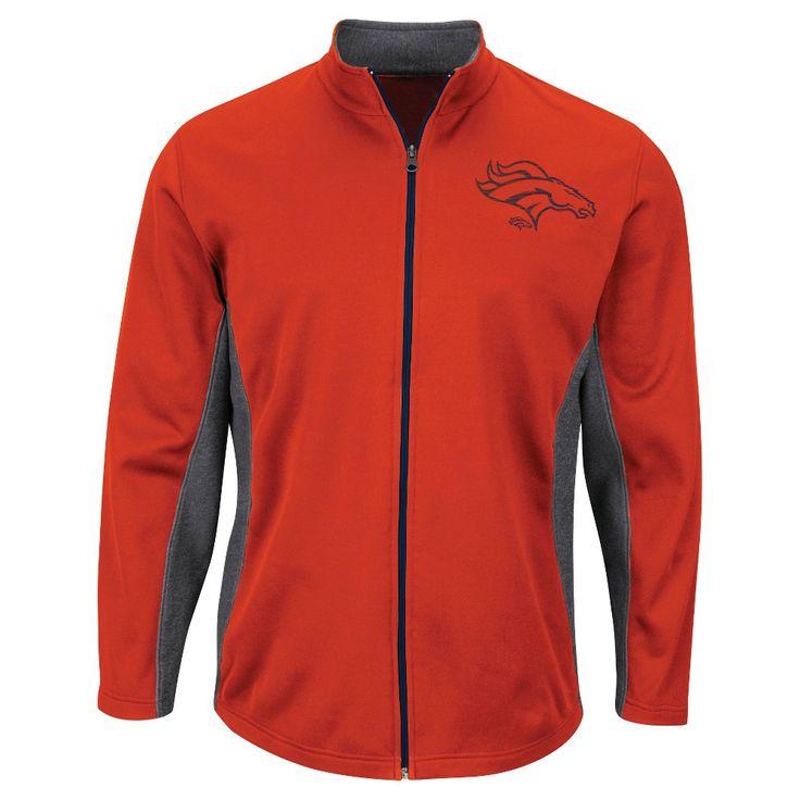 Denver Broncos Men's Activewear Sweatshirt Xxl, Multicolored