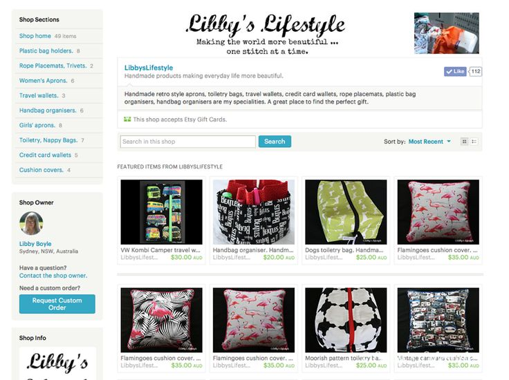 Libby's Lifestyle.: My Etsy Experience: taking the leap.