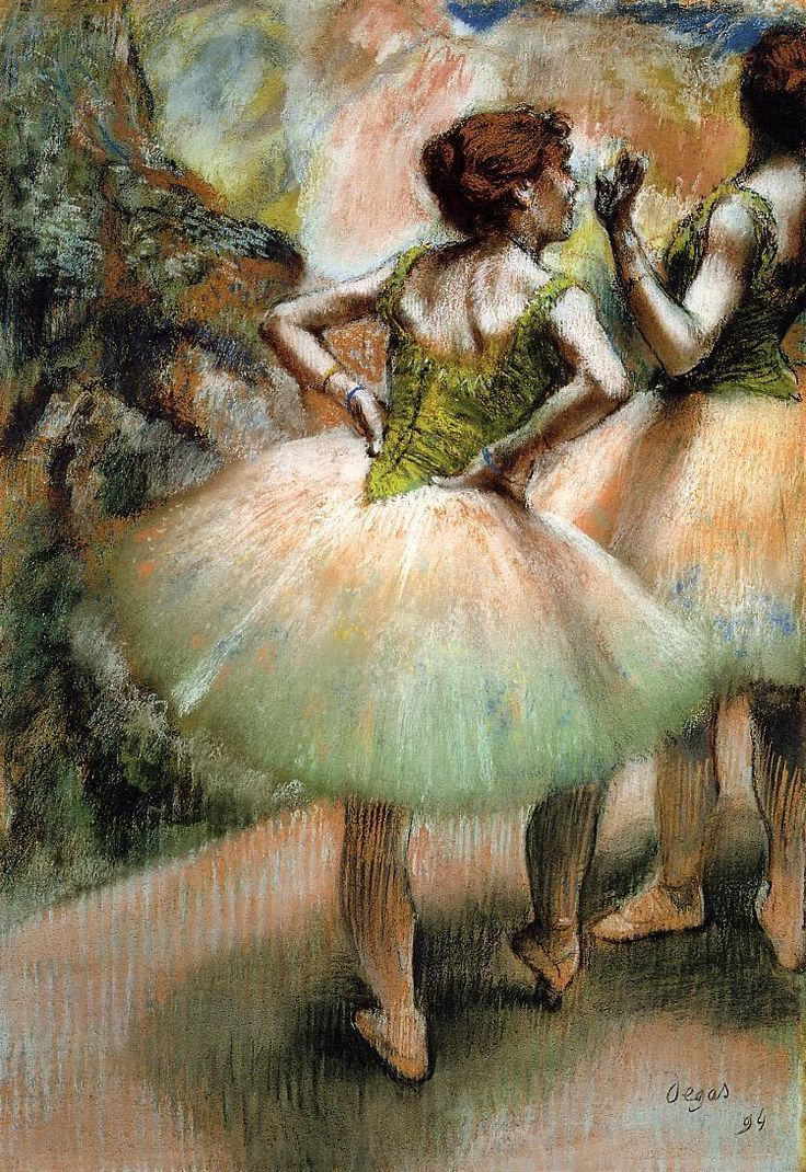 The Rehearsal, 1873, Dumbarton Oaks Research Library and Collection  Edgar Degas