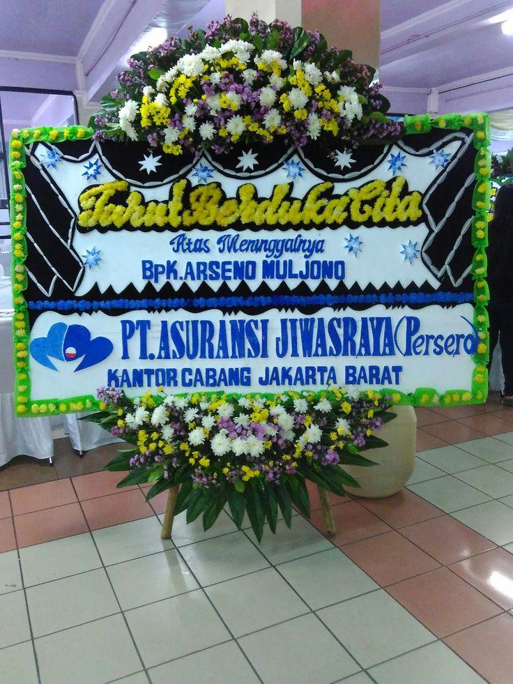 Bunga papan dukacita Jakarta