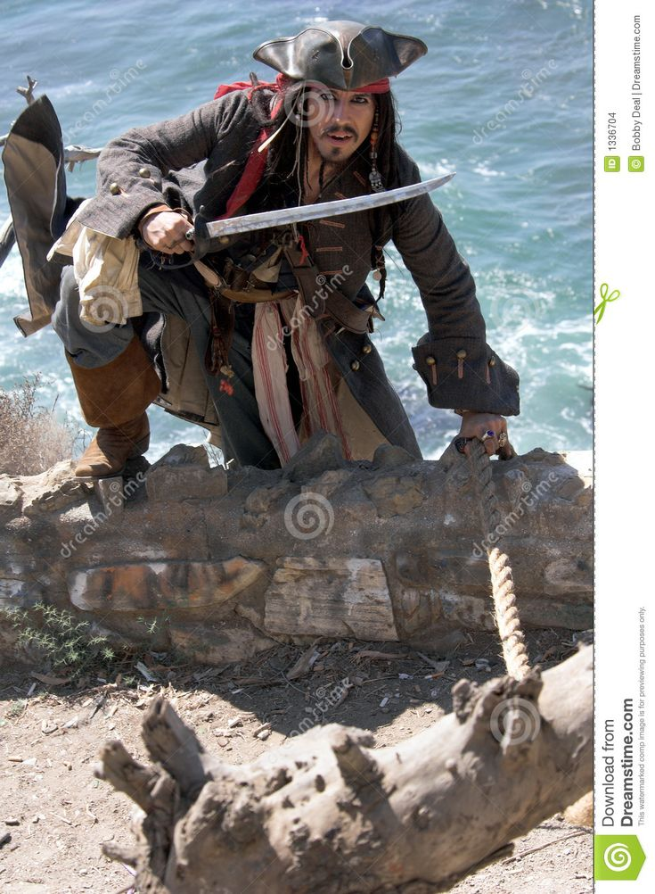 Fleeing Pirate - Download From Over 58 Million High Quality Stock Photos, Images, Vectors. Sign up for FREE today. Image: 1336704