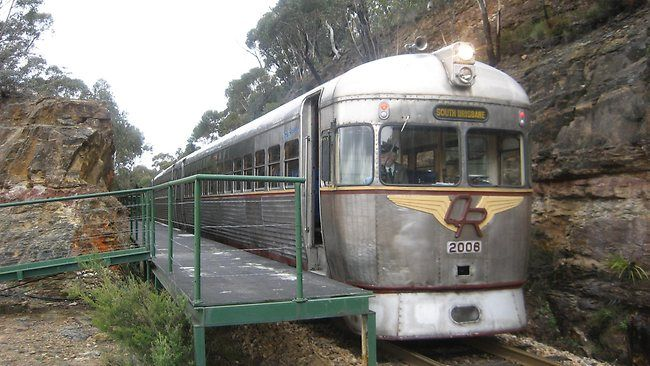NSW institution ... the Zig Zag Railway, near Lithgow in the Blue Mountains / Pic: Mike Smith Source: The Daily Telegraph