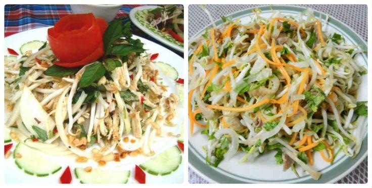 Cách làm hai món nộm gà xé phay ngon mà đơn giản cho bữa cơm ngày hè - http://congthucmonngon.com/176372/cach-lam-hai-mon-nom-ga-xe-phay-ngon-ma-don-gian-cho-bua-com-ngay-he.html