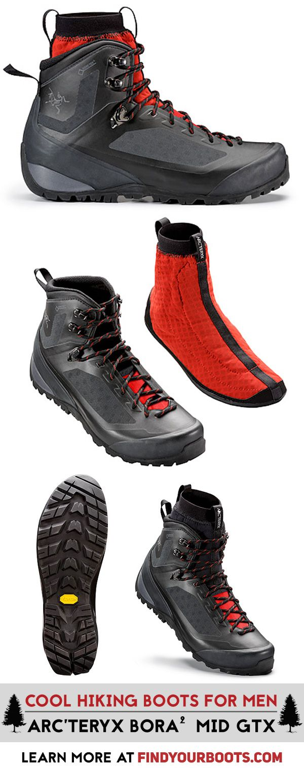 Arc'teryx hits a home run with these high tech and stylish mens hiking boots.