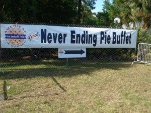 Great American Pie Festival and Buffet in Celebration in April
