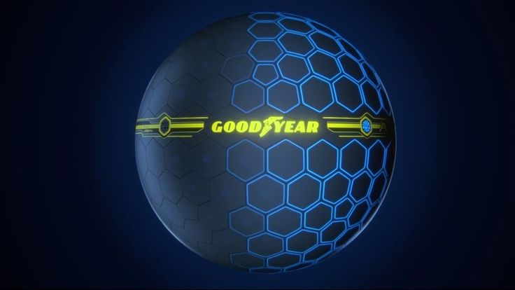 Goodyear se imagina un futuro con neumáticos esféricos y adaptables