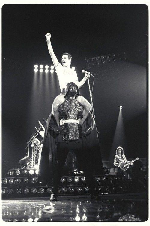 Freddie: Pop Culture, Darth Vader, Freddie Mercury, Rocks On, Queen, Stars War, Dark Side, Photo, Starwars