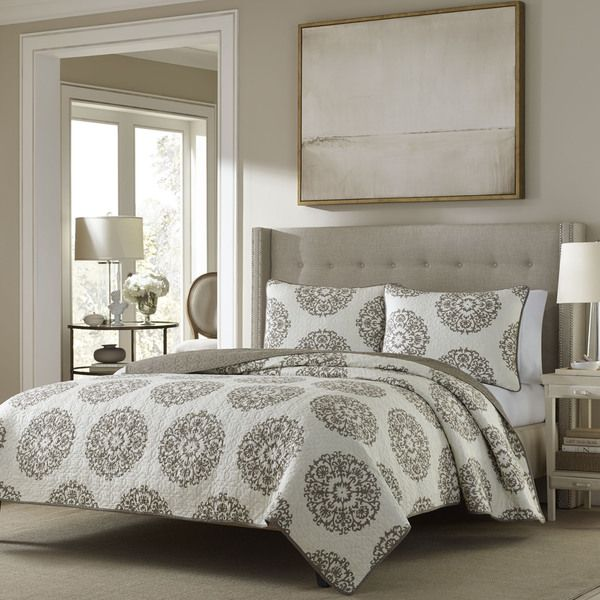 Superb Stone Cottage Medallion Reversible Quilt Set   Overstock Shopping   Great  Deals On Stone Cottage Quilts